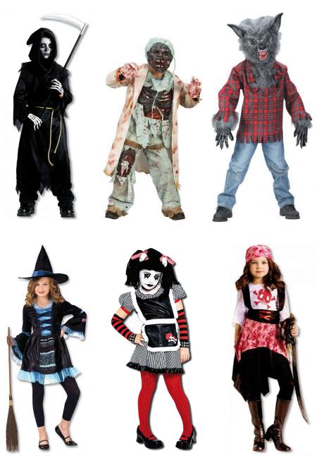 halloween – schaurige kostüme für kinder