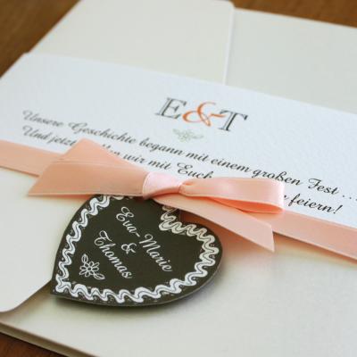 pocketfold & letterpress … einladung im wiesn-look